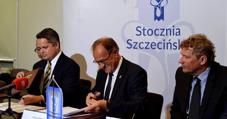Nowe kontrakty Stoczni Szczecińskiej